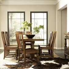 aesthetic rana furniture living room with solid wood dining table
