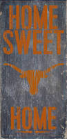 Texas Longhorn Home Decor Officially Licensed Texas Football Home Sweet Home Sign Texas