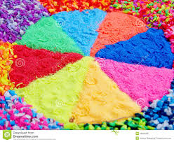 colorful soil use as decorative stock photo image 48204335