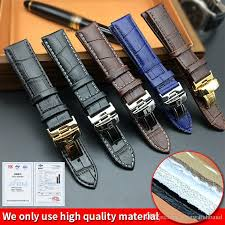 tissot bracelet leather images Watch strap for tissot prc200 t17 t41 t461 t049 19mm silver jpg