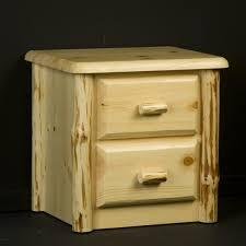 viking northwoods 6 drawer pine log dresser
