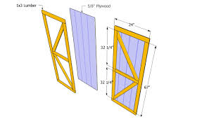 Free Diy Wooden Shed Plans by How To Build A Garden Shed Door The Garden Inspirations