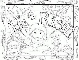 he is risen coloring pages coloring home