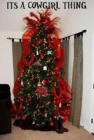 Cowboy Christmas Decorating Ideas Western Christmas Tree Fiestas Pinterest Western Christmas
