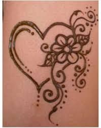 heart tattoo mehndi design danielhuscroft com
