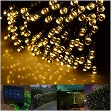 solar powered fairy lights for trees outdoor christmas tree lights solar powered more eye catching