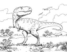 dinosaur coloring spectacular dinosaur coloring pages pdf