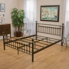 Metal King Size Bed Frame by California King Bed Frames Decofurnish