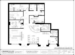 doctor office floor plan chiropractic family centered clinic floor plan exle with semi