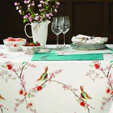 World Map Tablecloth by Lenox Tablecloths Chirp Print Tablecloths
