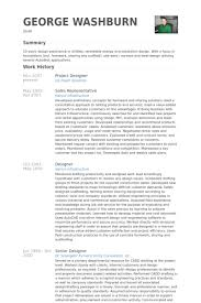 Design Resume Sample by Project Designer Resume Samples Visualcv Resume Samples Database