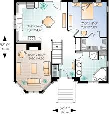 Small Cottage Plan Plan 21265dr Small House Plan With Options Smallest House