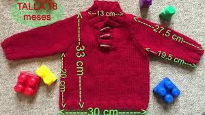 sueter tejido a dos agujas youtube fácil jersey punto para bebe 18 meses a dos agujas o agujas