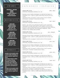 Creative Resume Template Word 100 Word Facebook Template Beautiful Resume Cv Template For