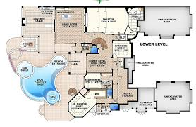 mediterranean style floor plans mediterranean style house plan 6 beds 7 50 baths 11672 sq ft