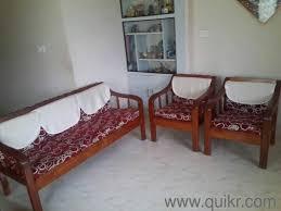 Teak Home Office Furniture by 1 2 Pure Teak Wood Sofa Set In Seetamma Peta Vizag Used Home