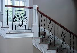 interior railings home depot modern stair railings ideas come home in decorations