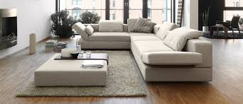 Wooden Floor L Living Room Wooden Floor Living Room With Luxury L Shaped Sofa