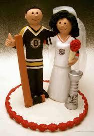 hockey cake toppers nhl themed wedding cake topper