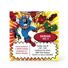 Free Spiderman Invitation Cards Free Avengers Birthday Invitation Templates Disneyforever Hd