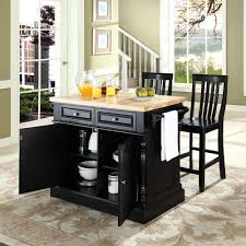 crosley butcher block top kitchen island with 24