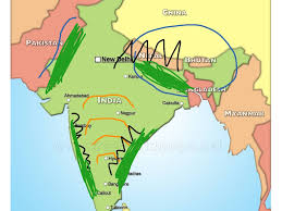 India On A Map India U0027s Map History Ancient India Showme
