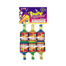 party poppers chagne party poppers the fireworks superstore
