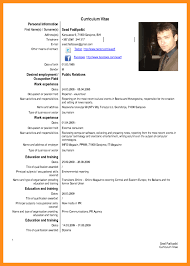 Fill In The Blank Resume Templates 28 Resume Examples In English Pdf Resume In English Resume