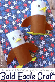 simple patriotic bald eagle craft for kids of all ages