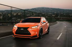 lexus sema 2016 lexus cars news lexus nx goes aggressive for sema