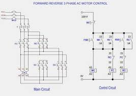 forward reverse 3 phase ac motor control wiring diagram throughout