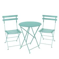 bistro setting 60cm table and 2 chairs bistro outdoor