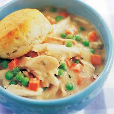 skillet chicken pot pie with biscuit topping america u0027s test kitchen