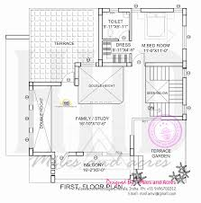 house plan of beautiful contemporary home kerala home design floor plan modern house elevation