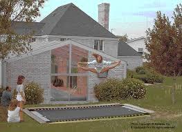 Trampoline Backyard Backyard Pro Trampolining