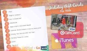 gift cards for kids the best gift cards for kids gift card