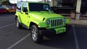 jeep green 2017 new 2017 jeep wrangler sahara sport utility in pearl city pj3392