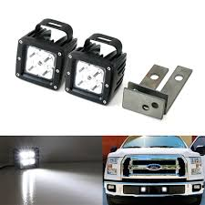 Led Fog Light Up Ford F 150 Cree High Power Led Fog Light Kit