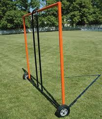 diy lacrosse goal portable lacrosse goal wheel cart