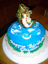 110 best birthday cake ideas images on pinterest fishing