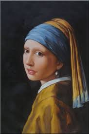 pearl earring painting framed girl with a pearl earring jan vermeer reproduction