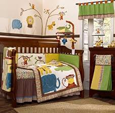 Crib Bedding Jungle Cocalo Jungle Jingle Six Crib Set Crib