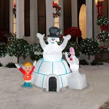 Air Blown Christmas Decorations Frosty The Snowman Outdoor Christmas Decorations Rainforest