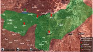 Syria World Map by Qasion News Agency Qasioun Map Syria Homs Latest Military