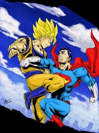 goku superman common matchup topic comic