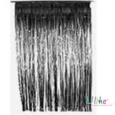 Silver Foil Curtains Wedding Background And Stage Decoration Metallic Foil Curtain