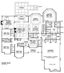5 Bedroom House Plan by My Perfect Ranch House 7 Beds 6 Baths 6888 Sq Ft Plan 67 871