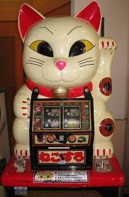 Good Luck Cat Meme - maneki neko good luck cat slot machine fun and funny stuff