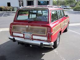 classic jeep wagoneer daily turismo seller submission 1991 jeep grand wagoneer
