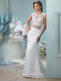 two wedding dress satin two wedding dress 116131 enchanting by mon cheri